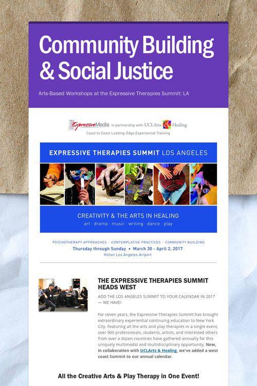 Community Building & Social Justice