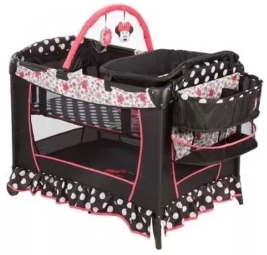 http://www.kidstoysonlineshopping.com/category/playard/ Pack And Play #Disney Minnie Mouse N' Playard Yard Bassinet Newborn Changer Baby from $129.99