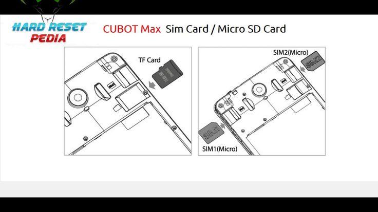 Cubot S550 Insert Sim Card Micro Sd Card Httpsyoutu