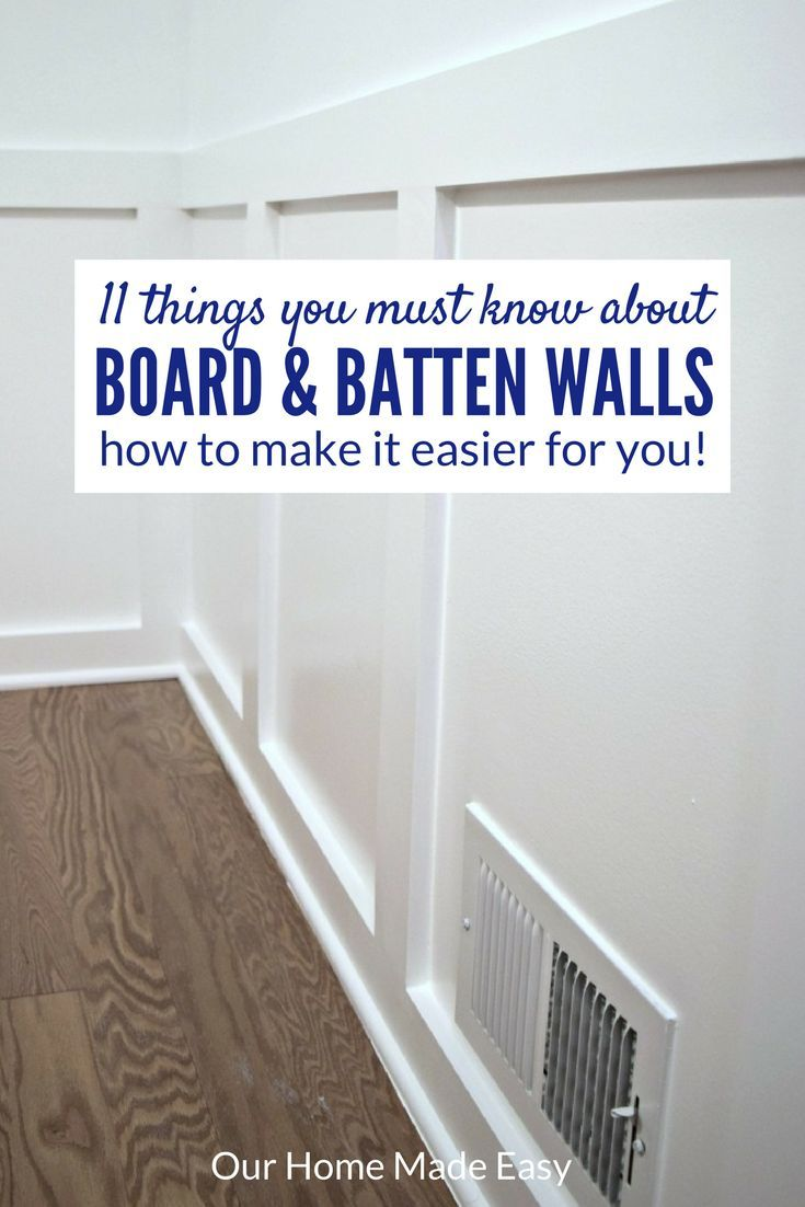 251 best DIY Wainscoting, Board and Batten, Ship Lap images on ...