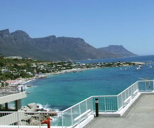 View of the Cape Peninsula from the Cape Town Beaches