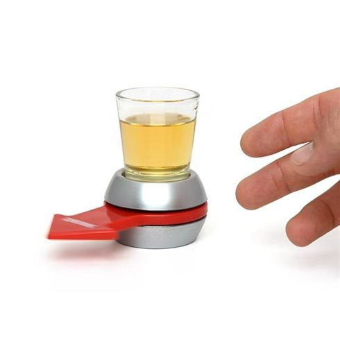Spin The Shot Glass Drinking Game Fun Party Gifts,Turntable Toys Drinking Game Shot Glass With Spinning Wheel Bar Games C0A297