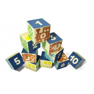 Uncle Goose Count and Stack Number Blocks