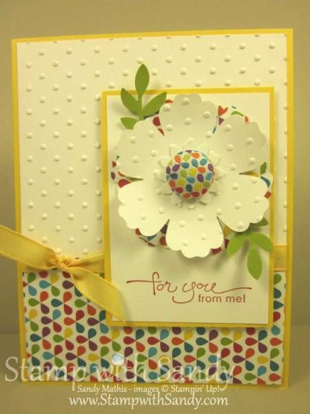 Summer Smooches Blossom by stampwithsandy - Cards and Paper Crafts at Splitcoaststampers