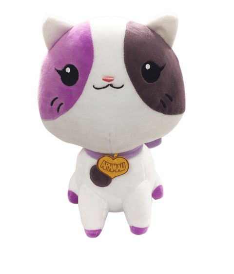 Aphmau Plush Doll Kitty Plushie Authentic Youtube