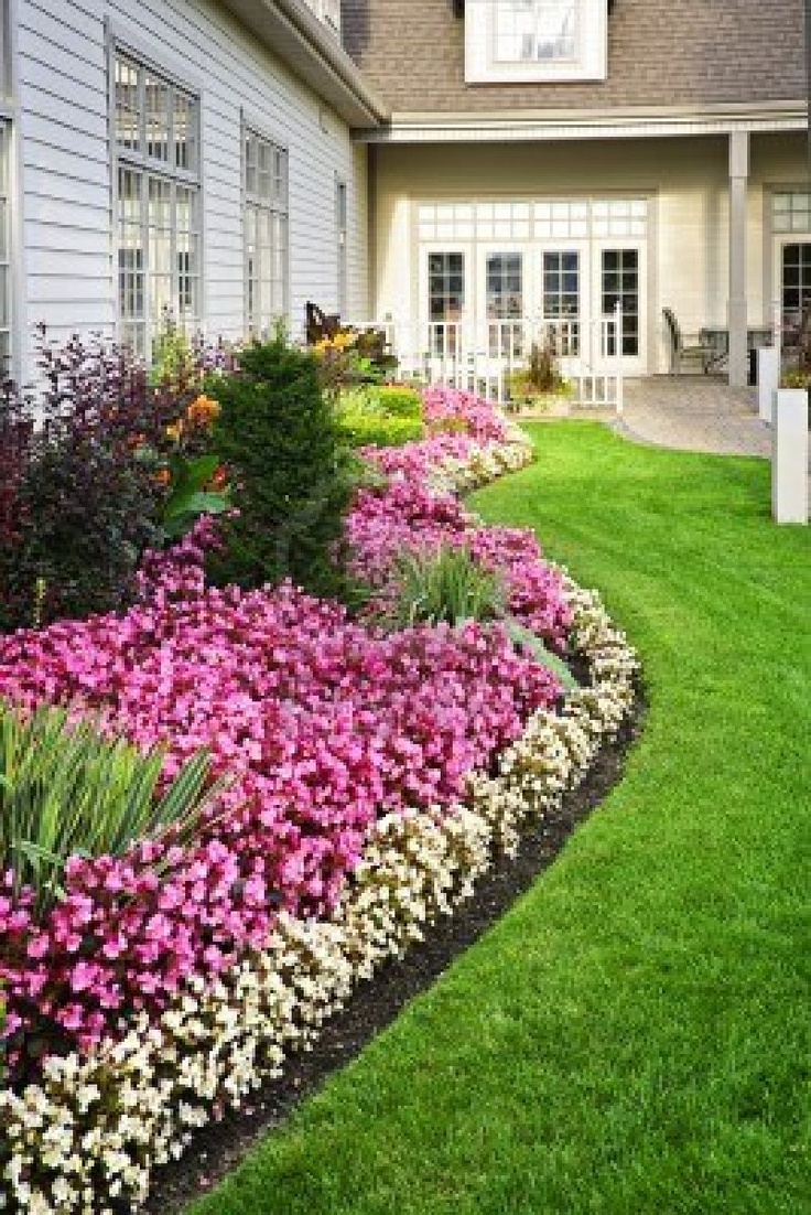 17 best ideas about flower bed borders on pinterest for Flower bed borders