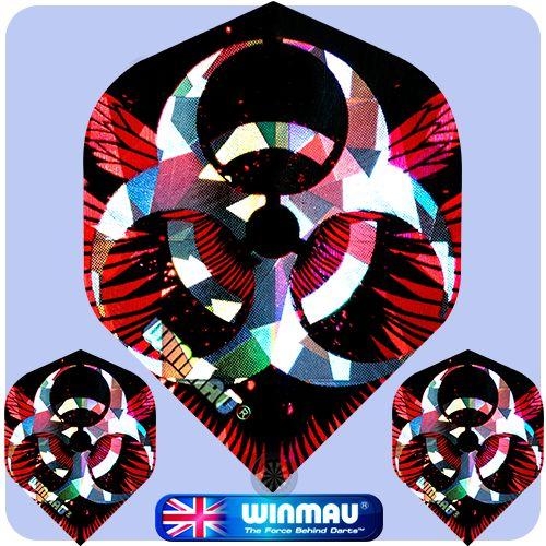Dart Flights - Winmau - 3D Standard - 75 Micron - Strong - Std - Razor Wire - http://www.dartscorner.co.uk/product_info.php?cPath=6_830_412&products_id=11955