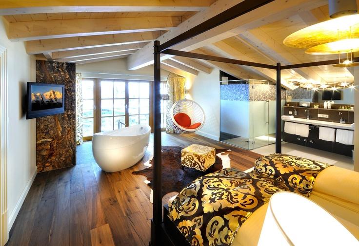 Palace Suite 2 Stock im Wellnesshotel Alpine Palace in Saalbach Hinterglemm