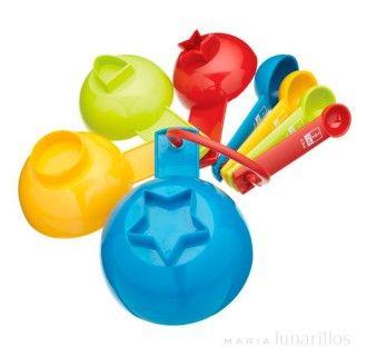 Cucharas y tazas medidoras I