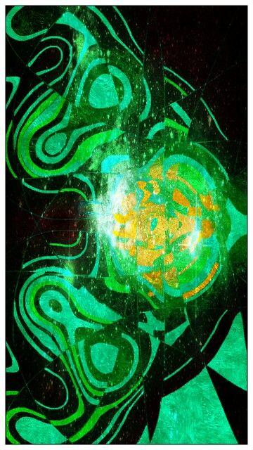 Emerald glow.....