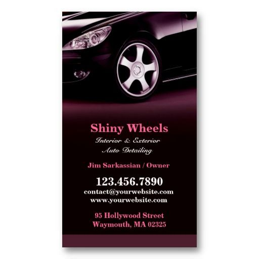 30 best Auto Detailing Business Cards images on Pinterest Ship - auto detailing flyer template
