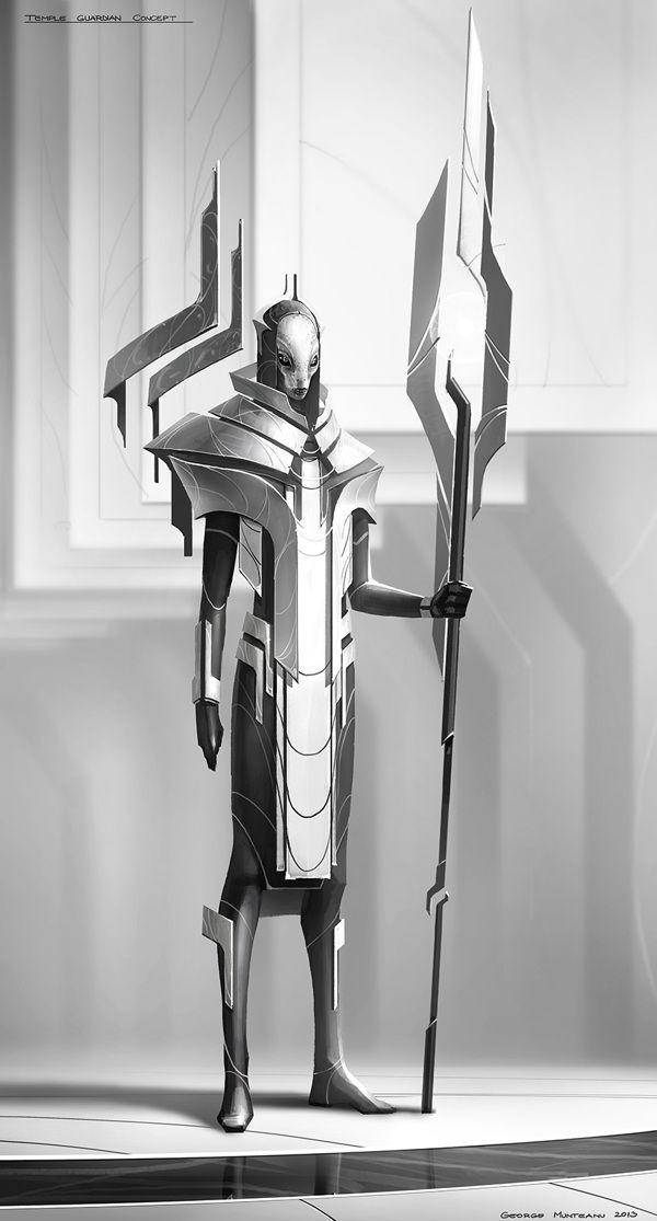 Project AaeRA - Concept Art by George Munteanu, via Behance