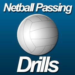 Netball passing drills...  http://www.topnetballdrills.com/netball-passing-drills/  #netball #drills #sports
