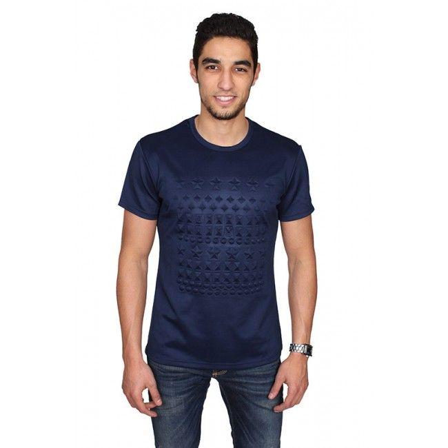 Explicit - T-shirt - Blauw