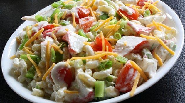 Maravilhosa receita de salada de caranguejo! - Bolsa de Mulher