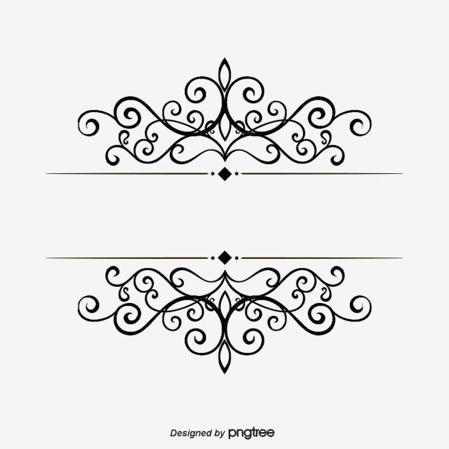 Pin By Taiate Santos On Contoh Art And Craft Images Hand Drawn Pattern Floral Border Design