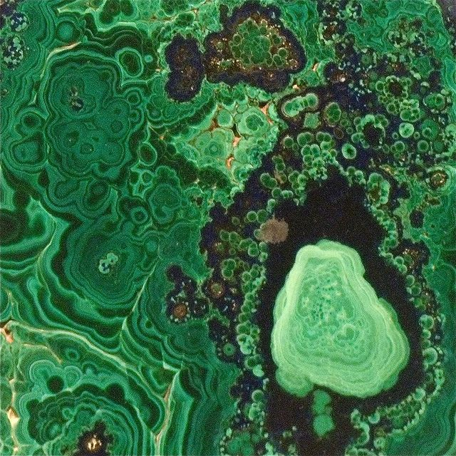 Verdant Mineral... Malachite with Azurite