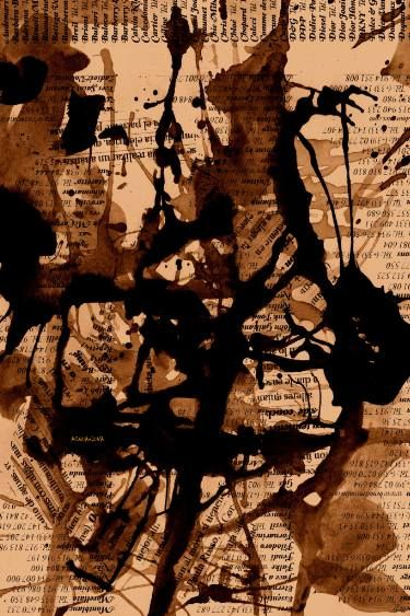 "Saatchi Art Artist ACQUA LUNA; Painting, ""35-Arte ABSTRACTO."" #art"