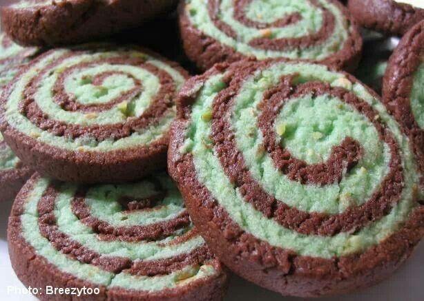 Cocoa pistachio cookies | Recipes | Pinterest