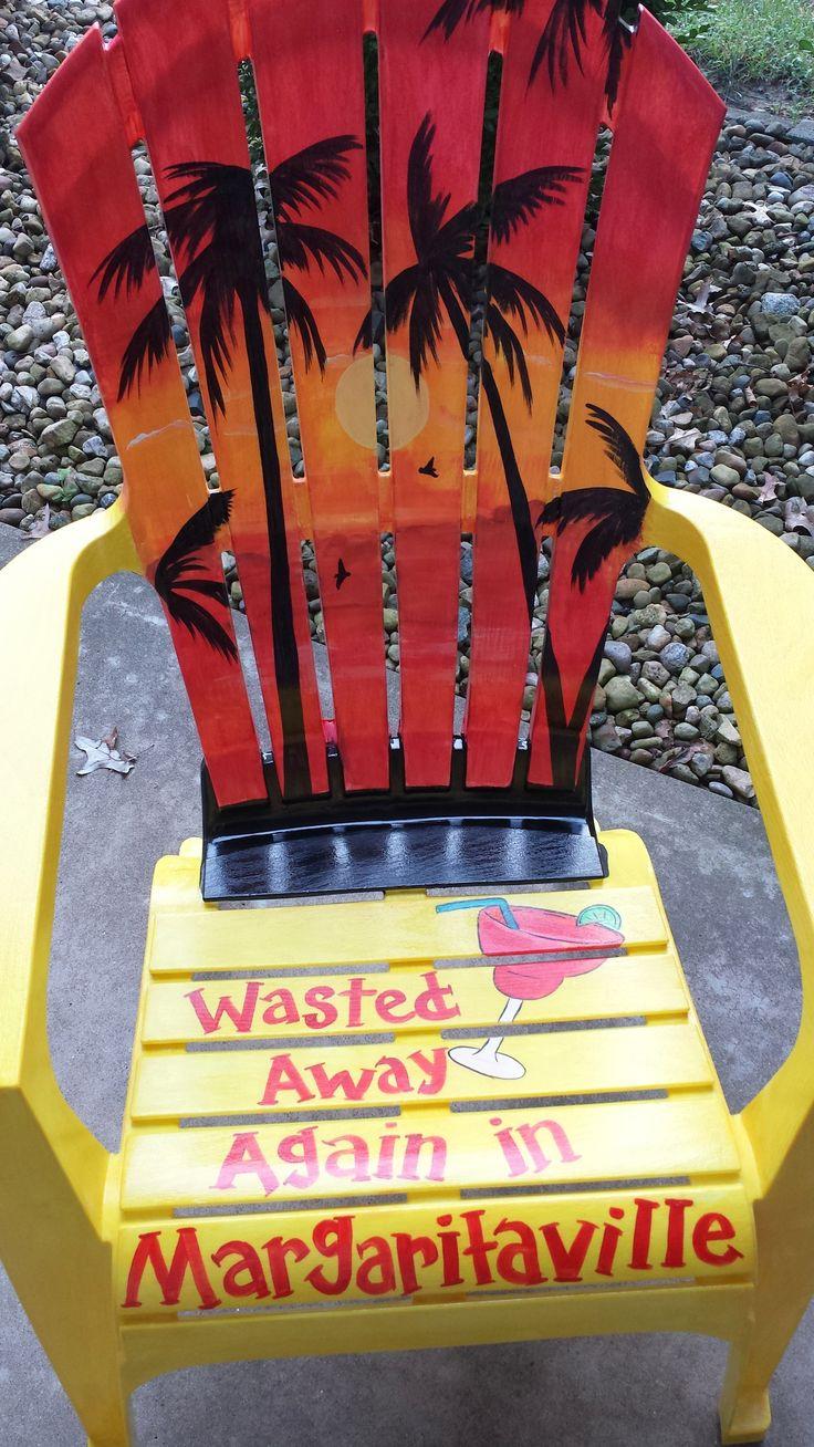 Best 25 jimmy buffett margaritaville ideas on pinterest jimmy jimmy buffett themed adirondack chair hand painted with margaritaville theme hexwebz Choice Image