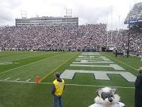 Beaver Stadium and Penn State vs Northwestern College Football Game