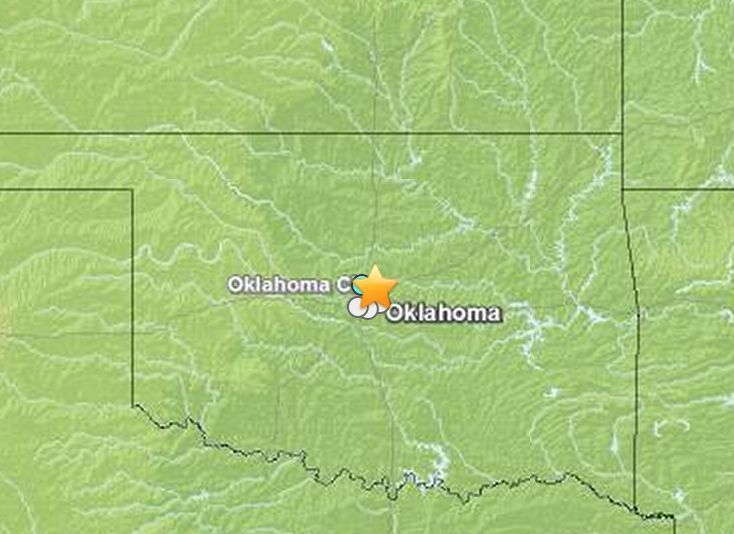 """A 4.5-magnitude earthquake in central Oklahoma shook residents Saturday [Dec.7],   just weeks after the two-year anniversary of the strongest earthquake ever recorded in the Sooner state. ----- (which was a 5.6 in Nov. 2011) ================= """"....earthquakes in One Place After Another."""" - Matt. 24:7"""