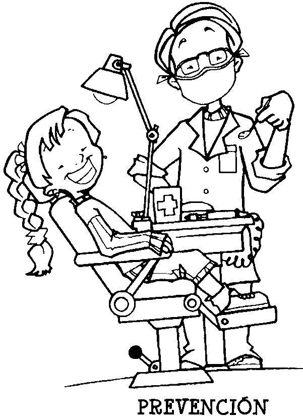 Recursos Y Actividades Para Educacion Infantil Habitos Saludables Libro De Colores Dibujos Oficios Y Profesiones
