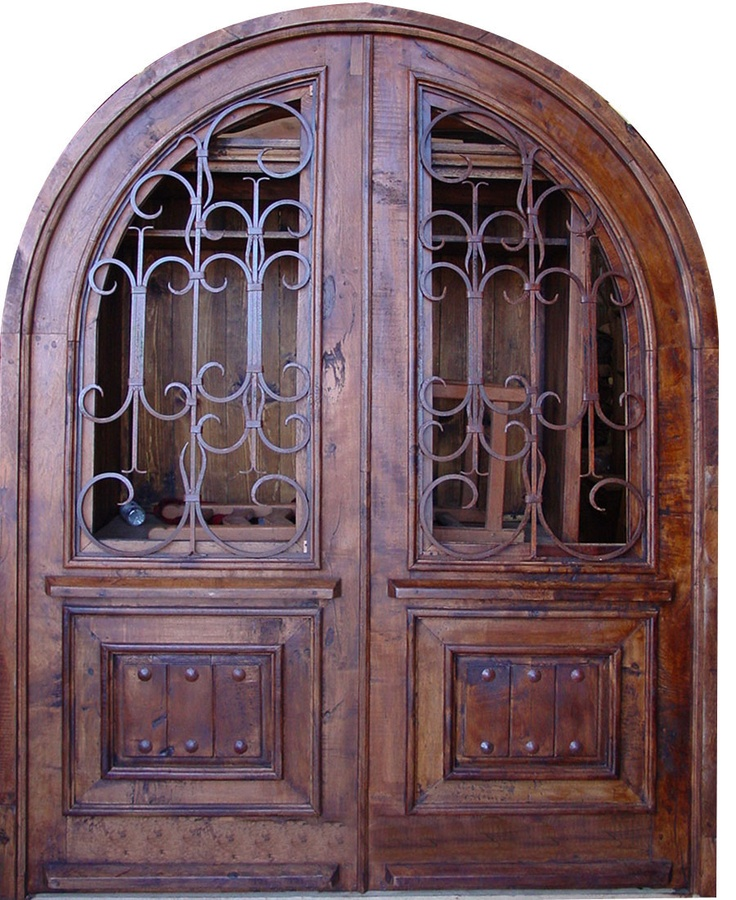 This Rustic Elegant Entry Door Is Made From Solid Mesquite