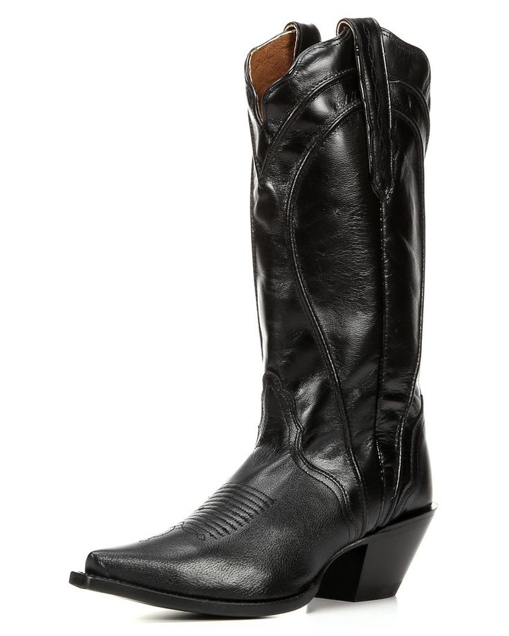Women's Fashion Acento Western Boot, Black