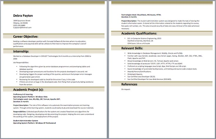 7 best entry level resume samples images on pinterest