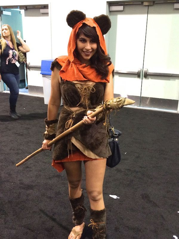 Image result for diy ewok costume for adults