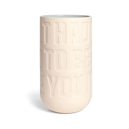 Kähler - Love Song vase - large Veil. pris fra NOK 589