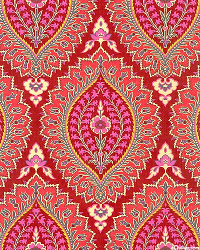 Amy Butler Alchemy Quilting - Imperial Paisley - Cinnamon