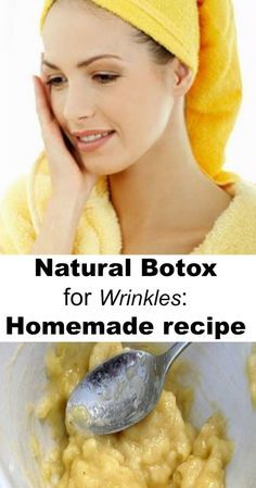 You shouldn't spend your money on any sort of creams to get rid of wrinkles . You have in your own kitchen three simple and natural ingredients that will help you get rid of wrinkles in a natural way as possible and in a very short time. Ingredients needed: 02006.1k0 Related Comments comments