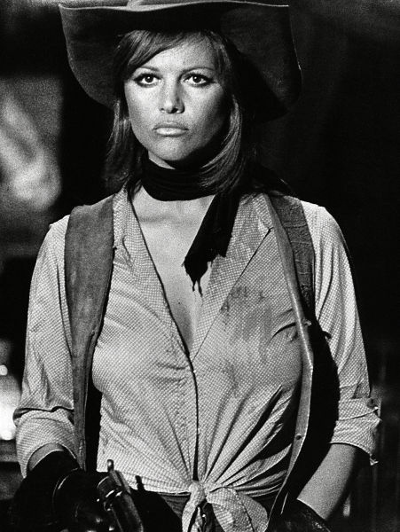 Claudia Cardinale in Once Upon a Time in the West, Sergio Leone, 1968