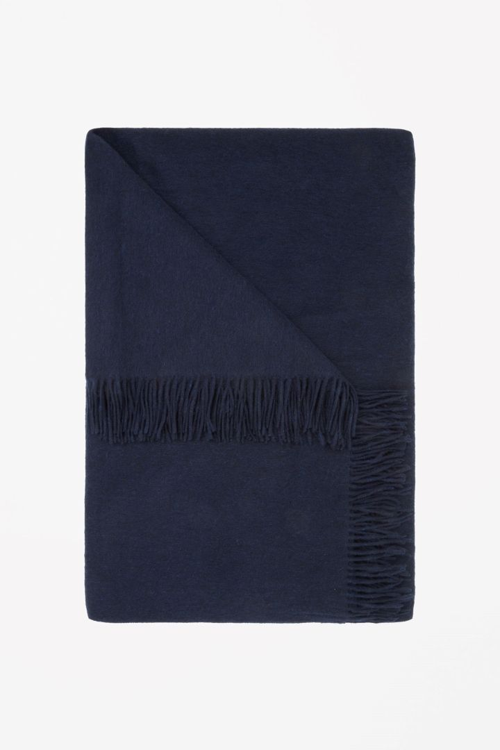 COS | Wool-cashmere throw