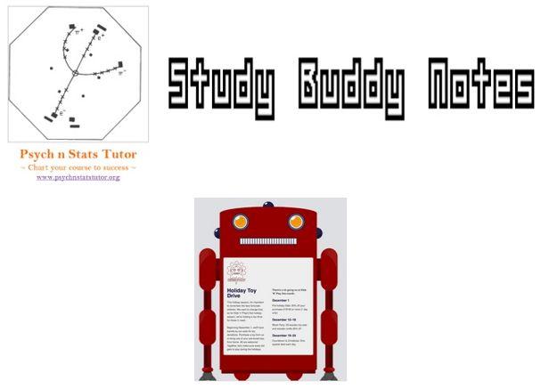 study buddy notes psychology and statistics newsletter