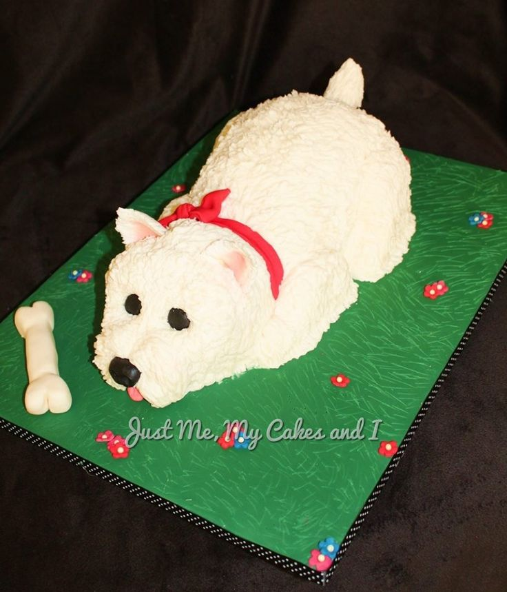 Scottie Dog Cake Decorations : Top 25 ideas about westie cakes on Pinterest Birthdays ...