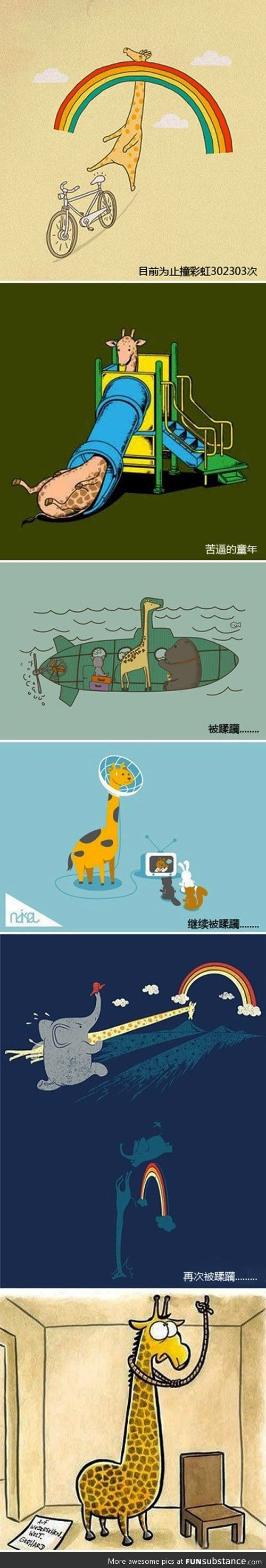 Poor Giraffe