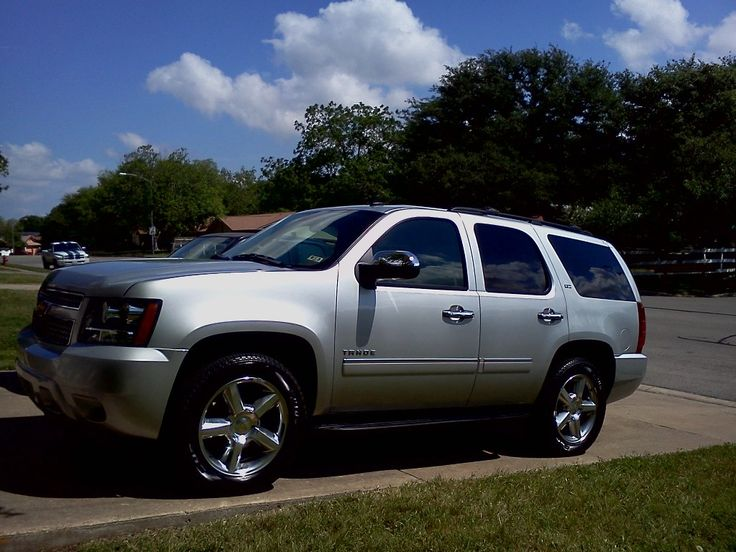 My Love Affair With A Chevy Tahoe