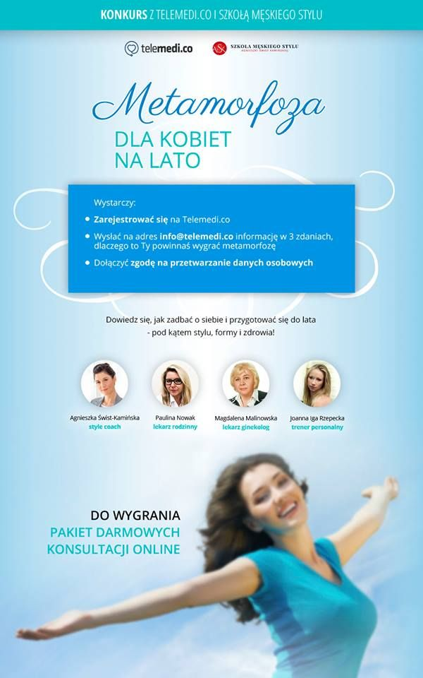 Telemedi.co i Szkoła Męskiego Stylu / Weź udział w konkursie i wygraj pakiet specjalistycznych konsultacji.