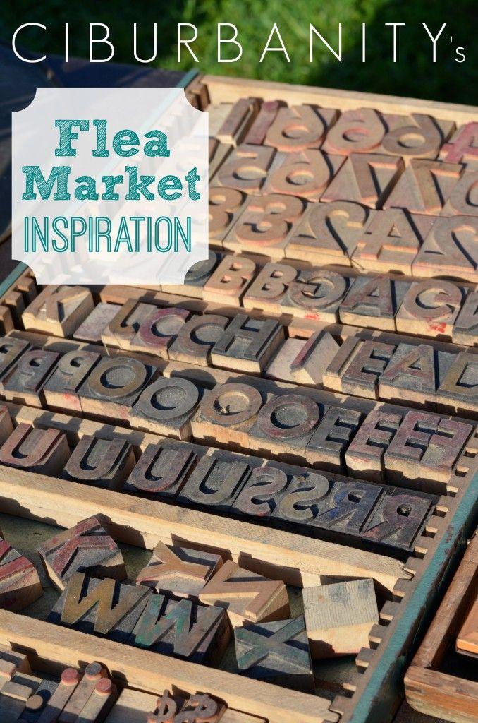 Ideas for flea market transformations