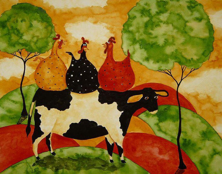 Original Folk Art Paintings For Sale