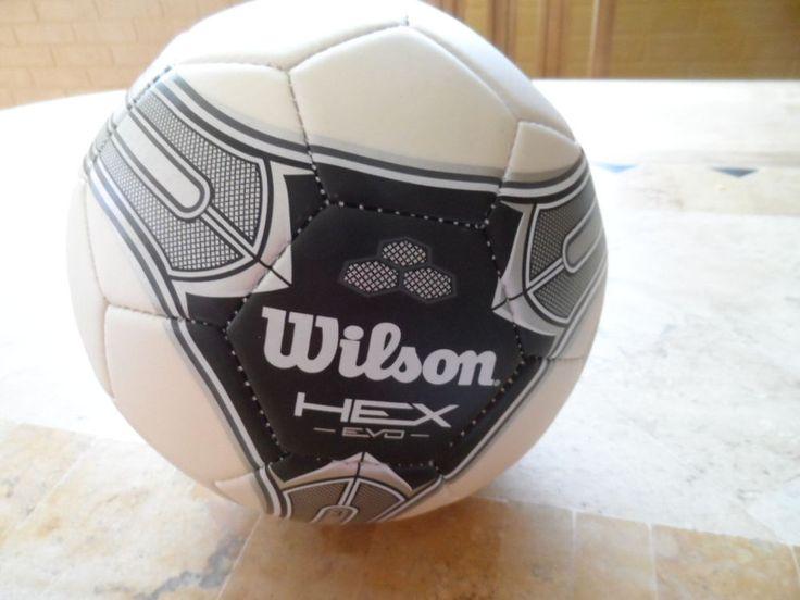 SOCCER BALL. HEX. EVD 3. WILSON. NEW. #WILSON