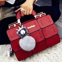Item Type: Handbags Pattern Type: Patchwork Style: Fashion Gender: Women Lining Material: Polyester