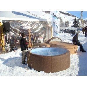 Yes, its OK to keep your Softub outside in the winter.
