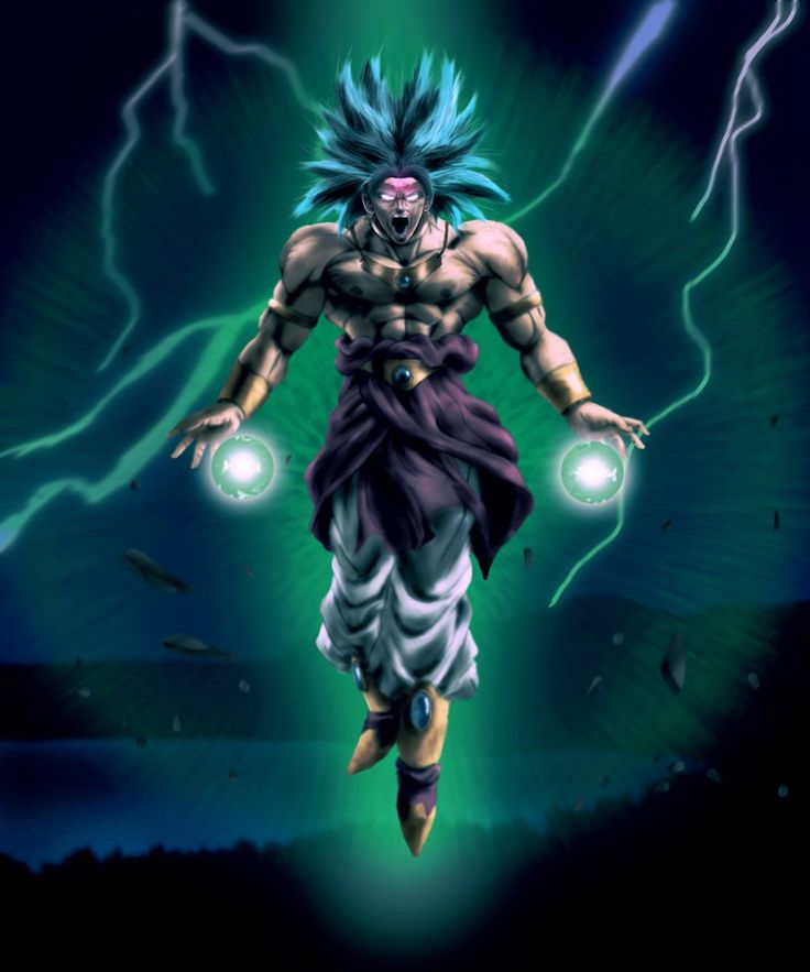Image result for broly super saiyan pinterest