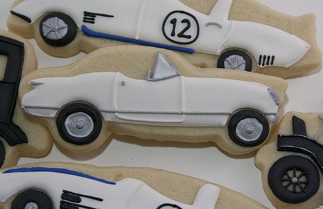 Classic Car Cookies   Flickr - Photo Sharing!