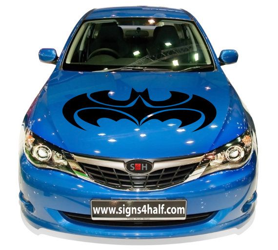 Batman Robin Logo Auto Car Hood Decal Vinyl Sticker Mural