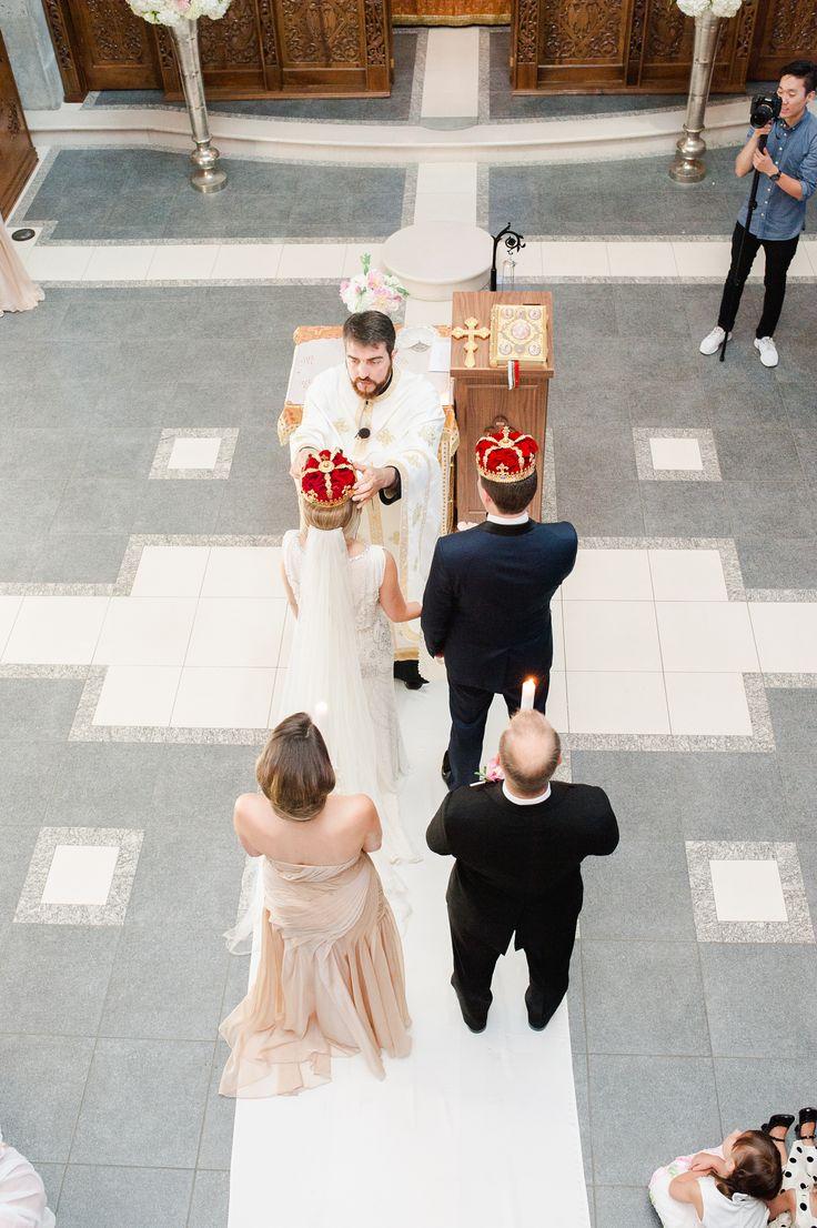 Traditional Serbian wedding ceremony.